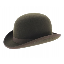 chapeau-melon-marron-cafe