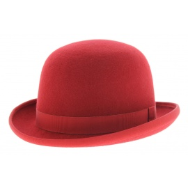 chapeau-melon-rouge