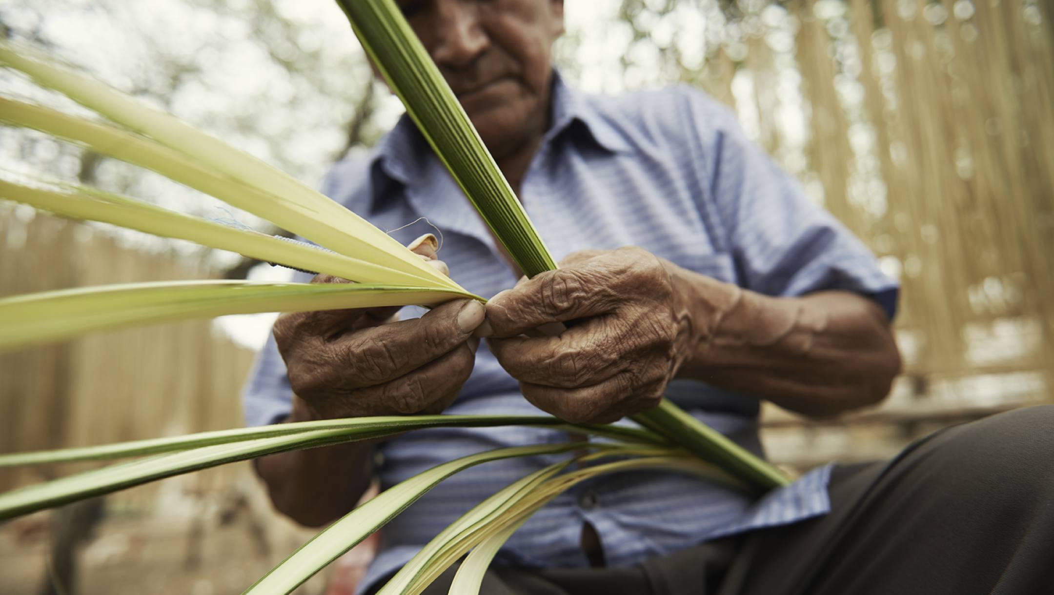 toutes les étapes du panama sont fait à la main