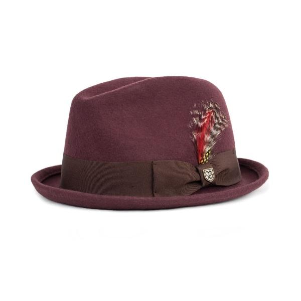 chapeau-gain-brixton-maroon