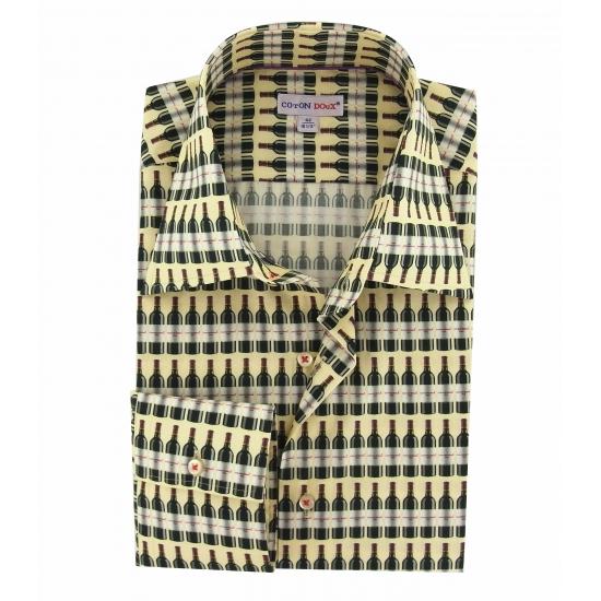 chemise-homme-coupe-cintree-imprimes-cave-a-vin-coton-doux
