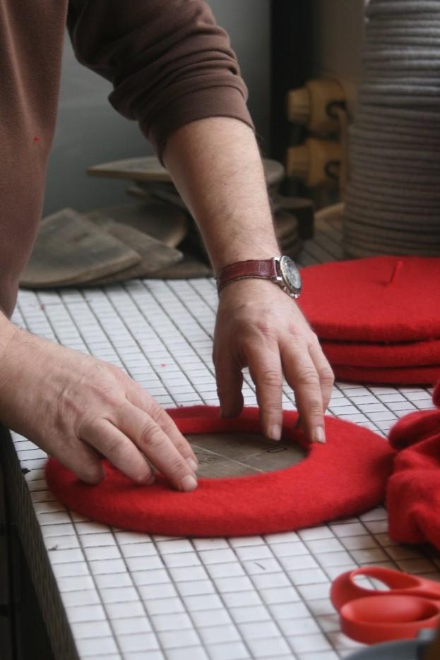 beret francais - fabrication de beret