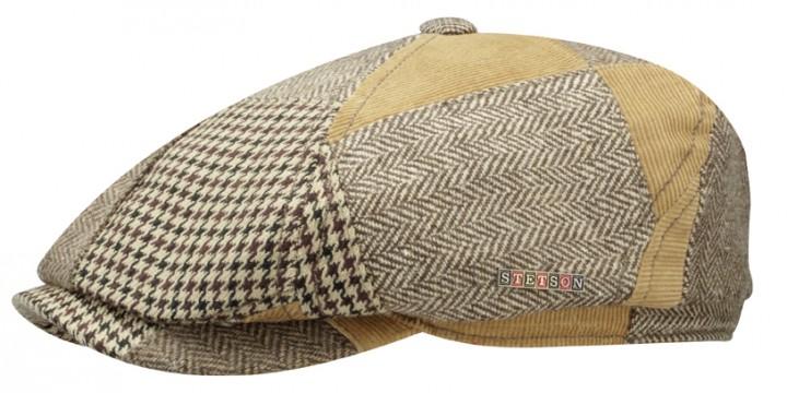 casquette brooklin patchwork stetson