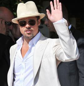 chapeau-Brad-Pitt-in-a-Panama-Hat