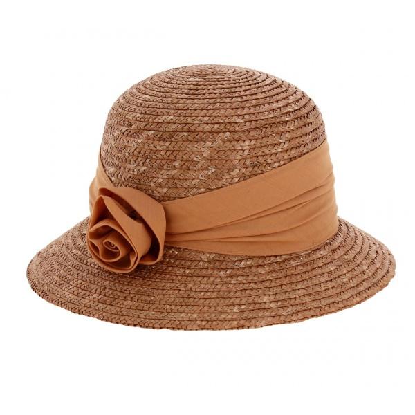 chapeau-cloche-paille-cuivre